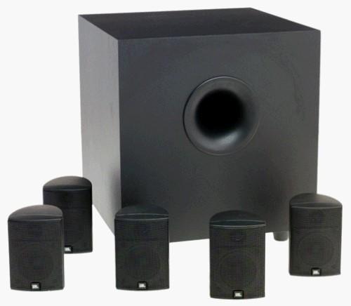 JBL Speakers/Subwoofer 125SAT