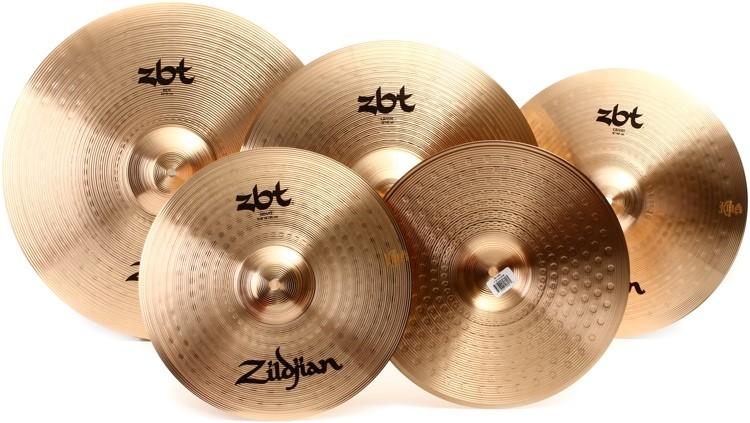 ZILDJIAN Cymbal ZBT 4PC STARTER SET