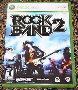 MICROSOFT Microsoft XBOX 360 Game ROCK BAND 2