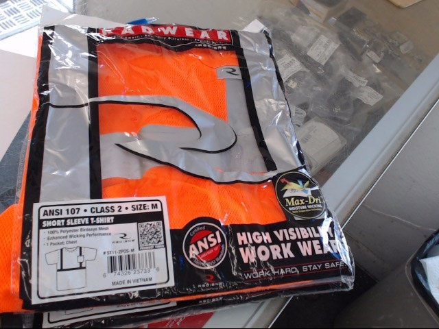 RAD WEAR VISIBILITY WORK VEST