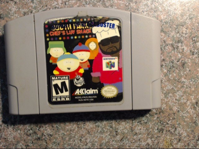 NINTENDO Nintendo 64 Game N64 SOUTH PARK CHEF'S LUV SHACK