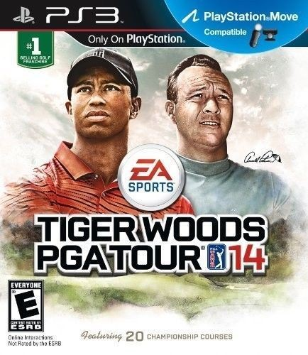 SONY Sony PlayStation 3 Game TIGER WOODS PGA TOUR 14