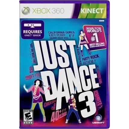 MICROSOFT Microsoft XBOX 360 Game XBOX 360 JUST DANCE 3