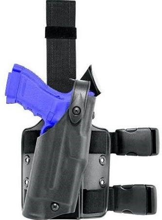 SAFARILAND Holster GLOCK 17, 19 THIGH HOLSTER