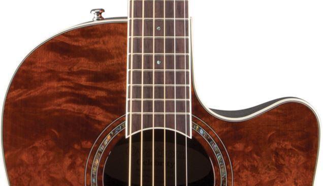 OVATION Electric-Acoustic Guitar CS24P-NBM