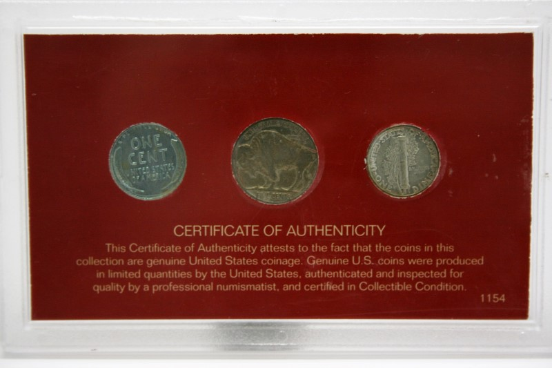 UNITED STATES RARE COINS OF THE LAST CENTURY