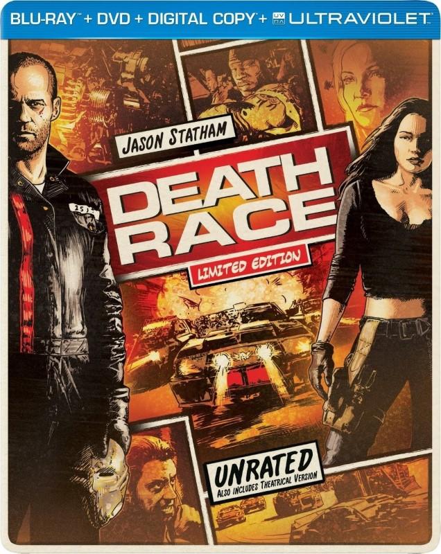 BLU-RAY MOVIE Blu-Ray DEATH RACE LIMITED EDITION
