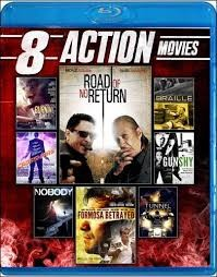 BLU-RAY MOVIE Blu-Ray 8 ACTION MOVIES