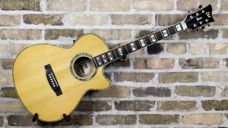 LTD GUITAR Electric-Acoustic Guitar XTONE AC-10E