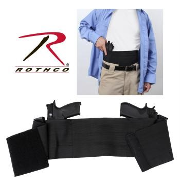 ROTHCO Holster AMBIDEXTROUS CONCEALED ELASTIC BELLY BAND HOLSTER
