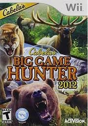 NINTENDO Nintendo Wii Game CABELAS BIG GAME HUNTER
