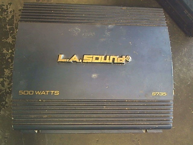 LA SOUND Car Amplifier S735