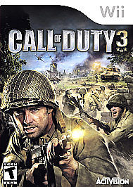 NINTENDO Nintendo Wii Game CALL OF DUTY 3 - WII