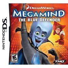 NINTENDO Nintendo DS Game MEGAMIND THE BLUE DEFENDER DS