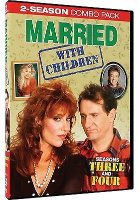 DVD BOX SET DVD MARRIED WITH CHILDREN SEASONS 3 & 4