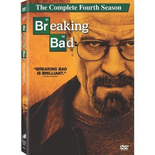 DVD BOX SET DVD BREAKING BAD SEASON 4