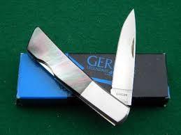 GERBER Pocket Knife SILVER KNIGHT