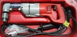 """MILWAUKEE TWO-SPEED RIGHT ANGLE DRIVE 1/2"""" DRILL"""