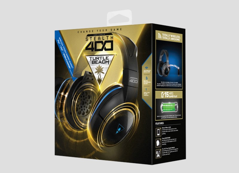 TURTLE BEACH Video Game Accessory EAR FORCE XO FOUR STEALTH