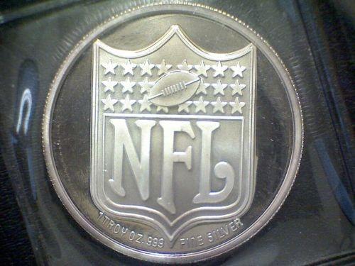 NFL Silver Bullion 1 OUNCE SILVER ROUND