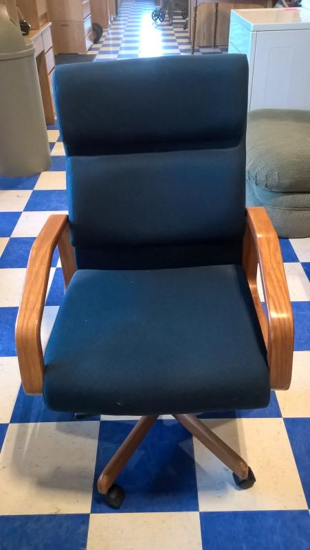 Chair BLUE OFFICE CHAIR