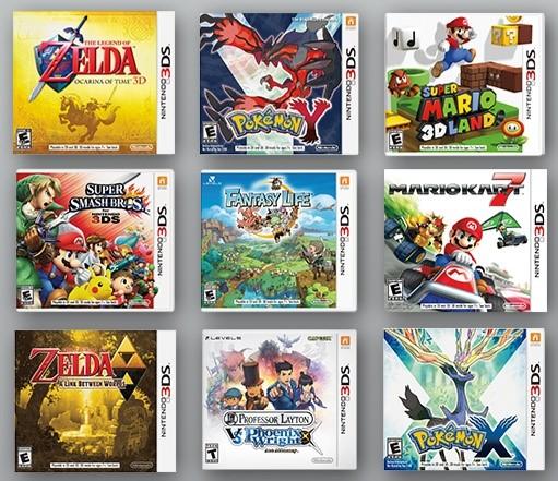 NINTENDO Nintendo 3DS 3DS GAMES