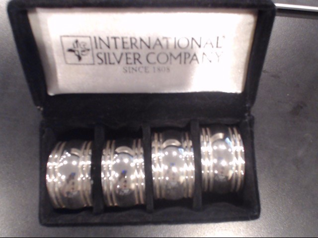 INTERNATIONAL SILVER COMPANY NAPKIN HOLDERS
