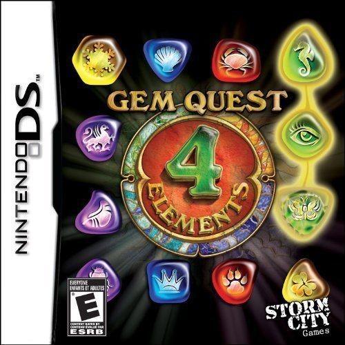 NINTENDO Nintendo DS Game GEM QUEST 4 ELEMENTS