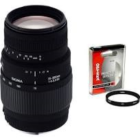 70-300MM LENS W/COVER - MISSING