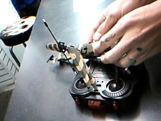 """SWIFT STREAM Miscellaneous Toy S-202 REMOTE CONTROL 9"""" HELICOPER BLACK HAWK"""