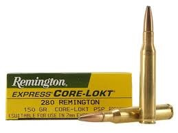 REMINGTON FIREARMS & AMMO Ammunition CORE-LOKT .280 150 GR
