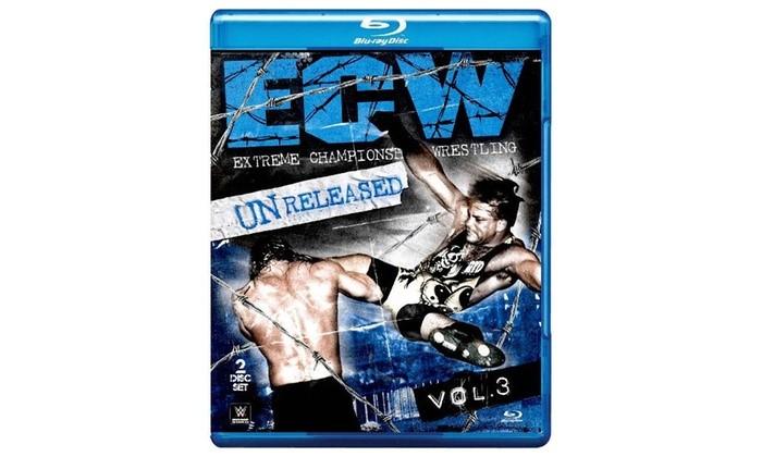 WWE: ECW Unreleased, Vol. 3 (Blu-ray Disc, 2015, 2-Disc Set)
