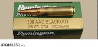 REMINGTON FIREARMS & AMMUNITION Ammunition RM300AAC6