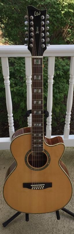 LTD GUITAR Acoustic Guitar XTONE AC-15E