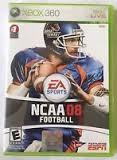 MICROSOFT Microsoft XBOX 360 Game EA SPORTS NCAA08 FOOTBALL 360