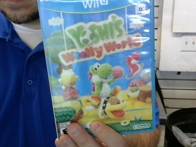 NINTENDO Game WIIU U YOSHI'S WOOLLY WORLD