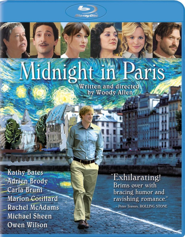 BLU-RAY MIDNIGHT IN PARIS