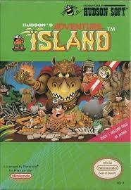 NINTENDO Nintendo NES Game HUDSONS ADVENTURE ISLAND (NES)