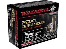 WINCHESTER Ammunition 9MM LUGER 147GR