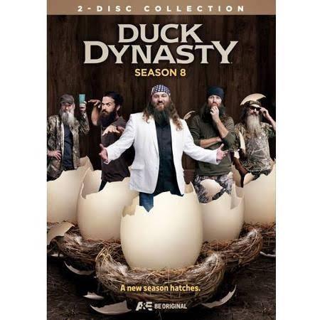 DVD BOX SET DVD DUCK DYNASTY SEASON 8