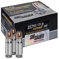 SIG SAUER Ammunition E357M1