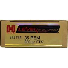 HORNADY Ammunition 35 REM 200GR FTX LEVER EVOLUTION