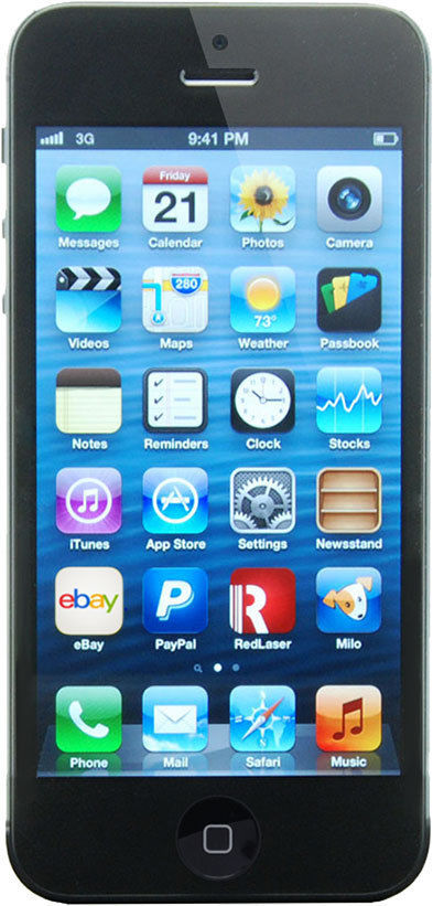 APPLE Cell Phone/Smart Phone IPHONE 5 ME486LL/A T-MOBILE