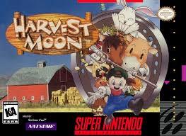 NINTENDO Nintendo SNES Game HARVEST MOON SNES