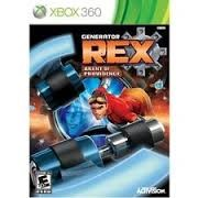 MICROSOFT Microsoft XBOX 360 Game GENERATOR REX AGENT OF PROVIDENCE