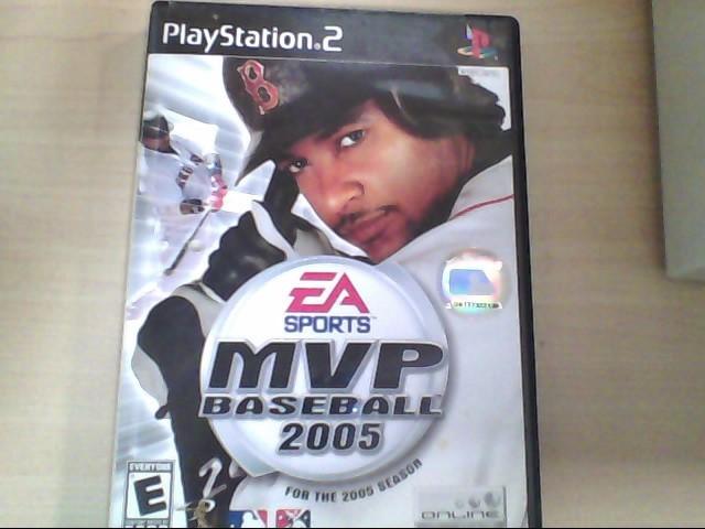 SONY Sony PlayStation 2 Game MVP BASEBALL 2005