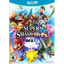NINTENDO Nintendo Wii U Game SUPER SMASH BROS WII U