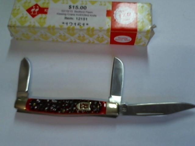KISSING CRANE Display Knife KC6329RD