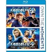 BLU-RAY FANTASTIC 4 & RISE OF THE SILVER SURFER / DOUBLE