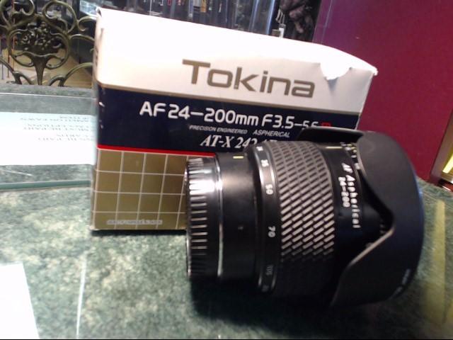 TOKINA Lens/Filter AT-X 242 24-200 MM F3.5 -5.6